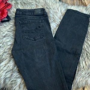AEO American Eagle 🦅 Black Skinny Jeans